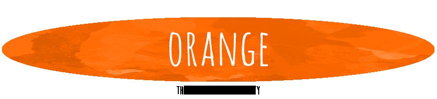 Orange Colour Therapy