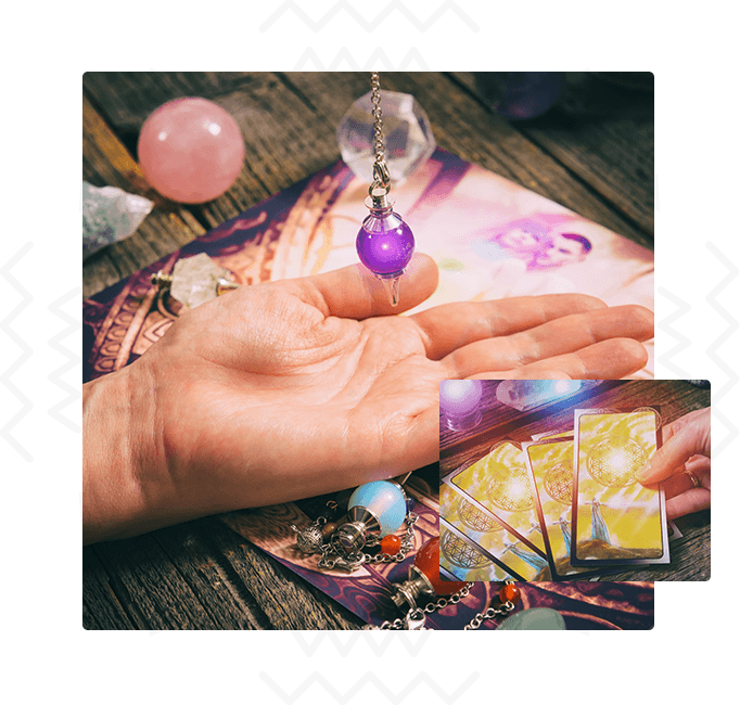 why choose psychic sofa image of tarot cards